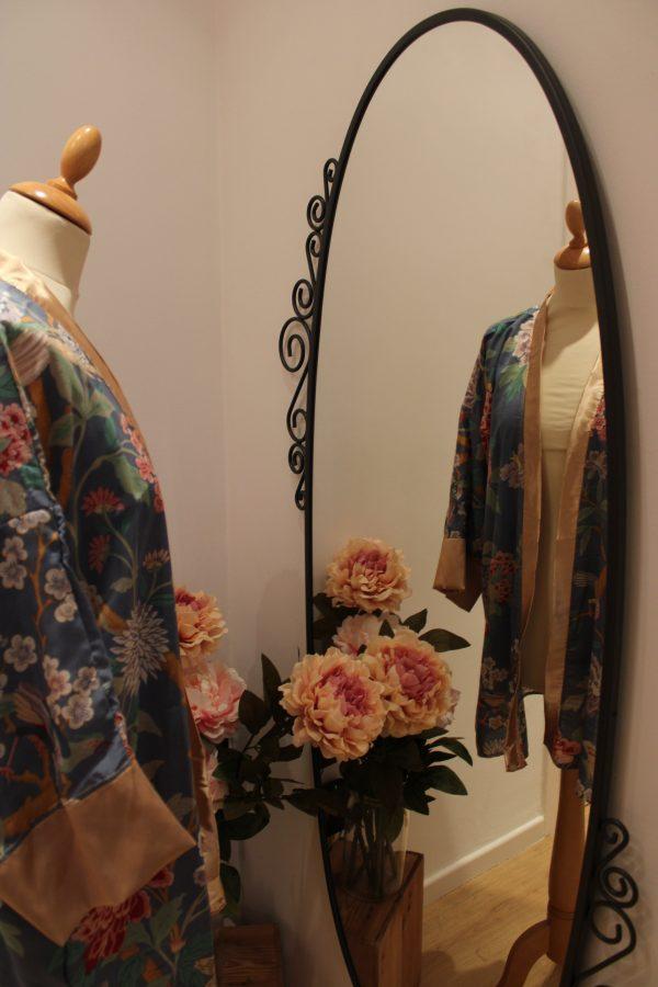 kimono oiseaux exotiques